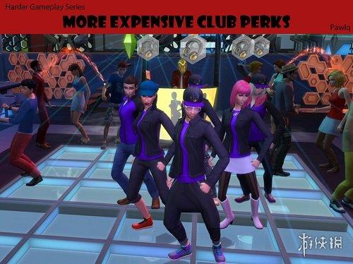 類比市民4   V20181121更昂貴的俱樂部特權MOD_類比市民4遊戲MOD