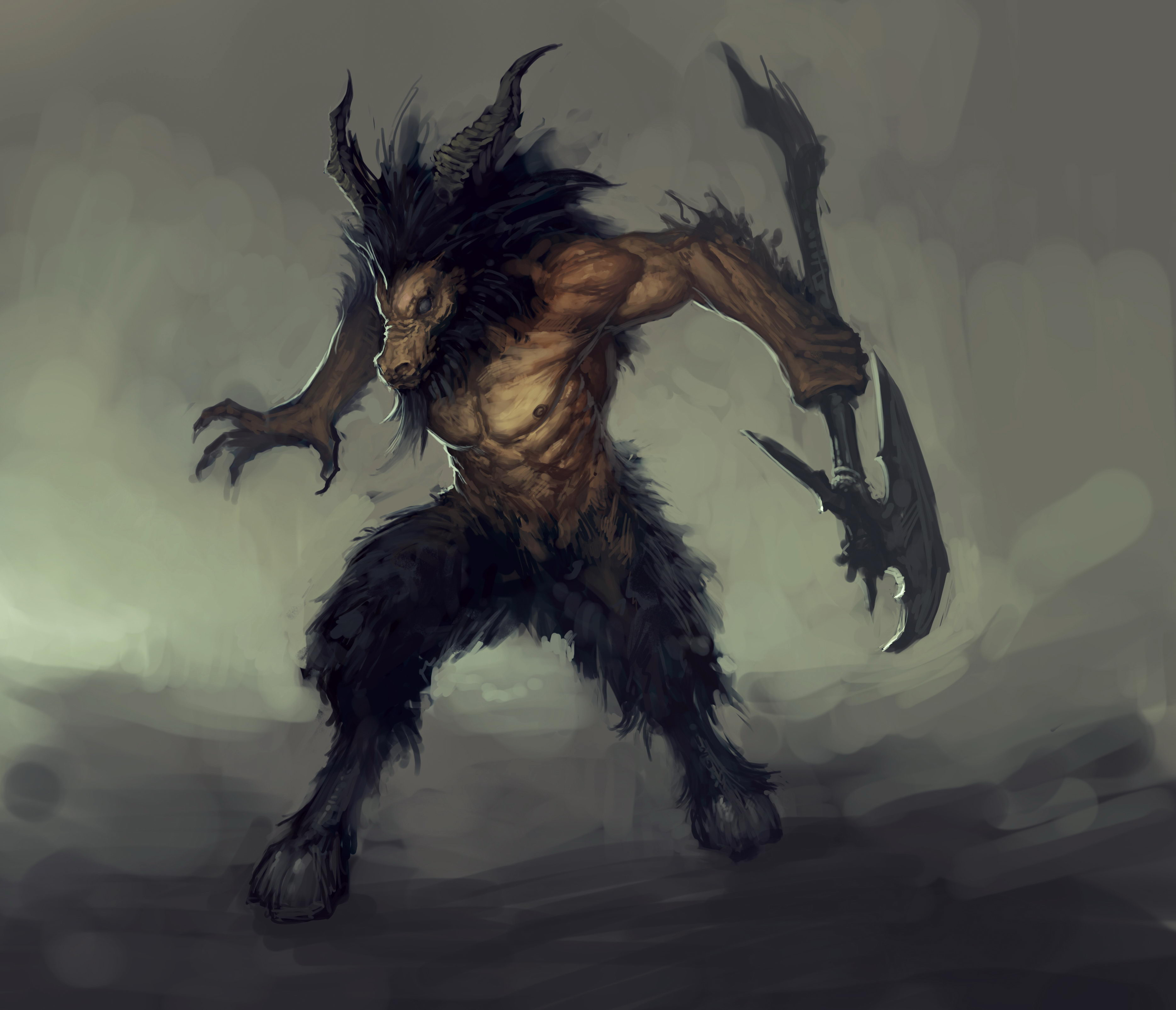 《暗黑破坏神3》游戏人物精美设定图
