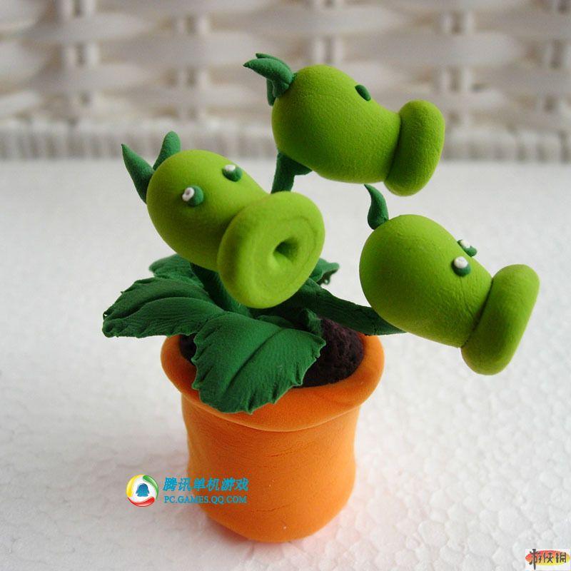 粘土制作可爱小盆栽