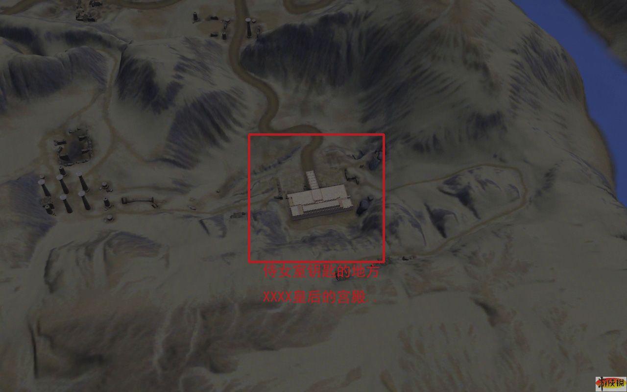 埃及 7 钥匙插入位置,在那个宫殿将楼层调低便可找到 高清图片