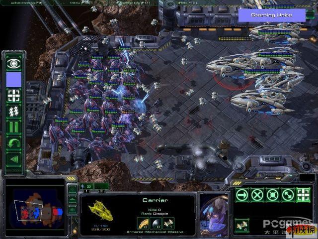 星际1经典比赛地图