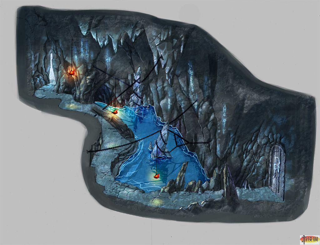 06,07 藤仙洞,与之前冰炎洞的冰冷诡异不同,似乎是充满生机的迷宫