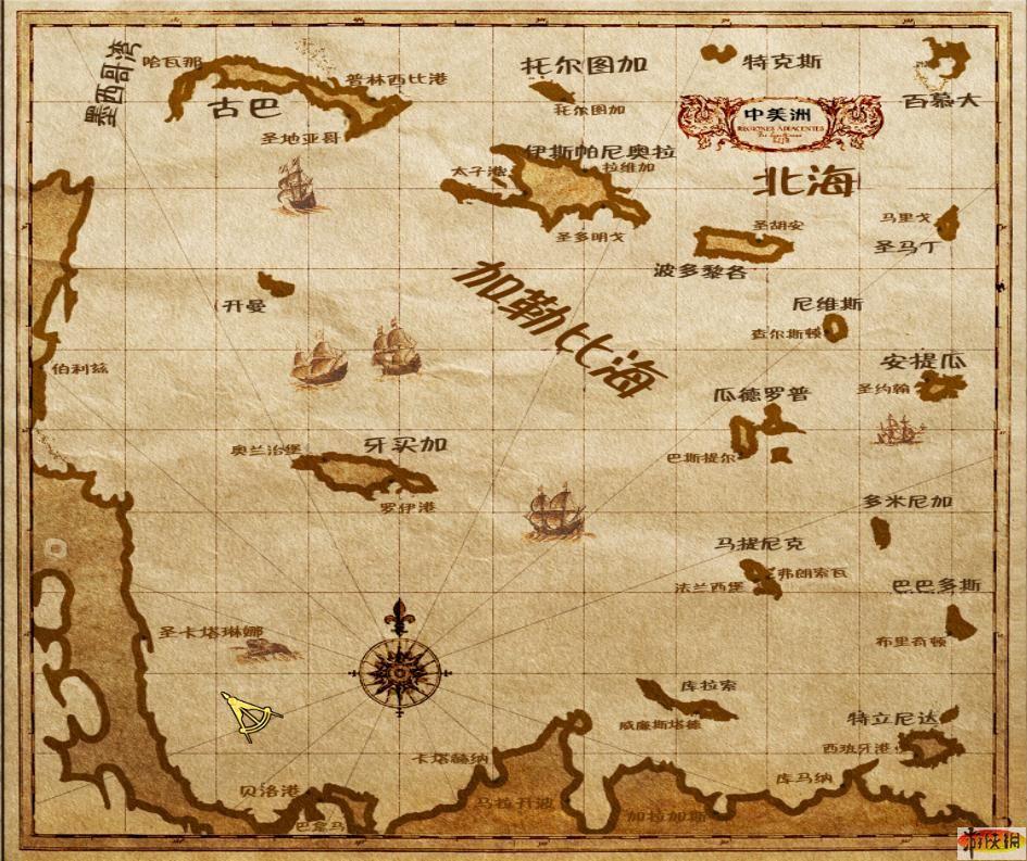 》中文版游戏大地图