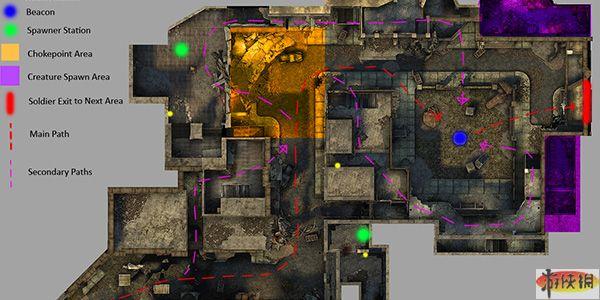 《奇点》开发者日志其伍-奇点多人地图设计多人地图