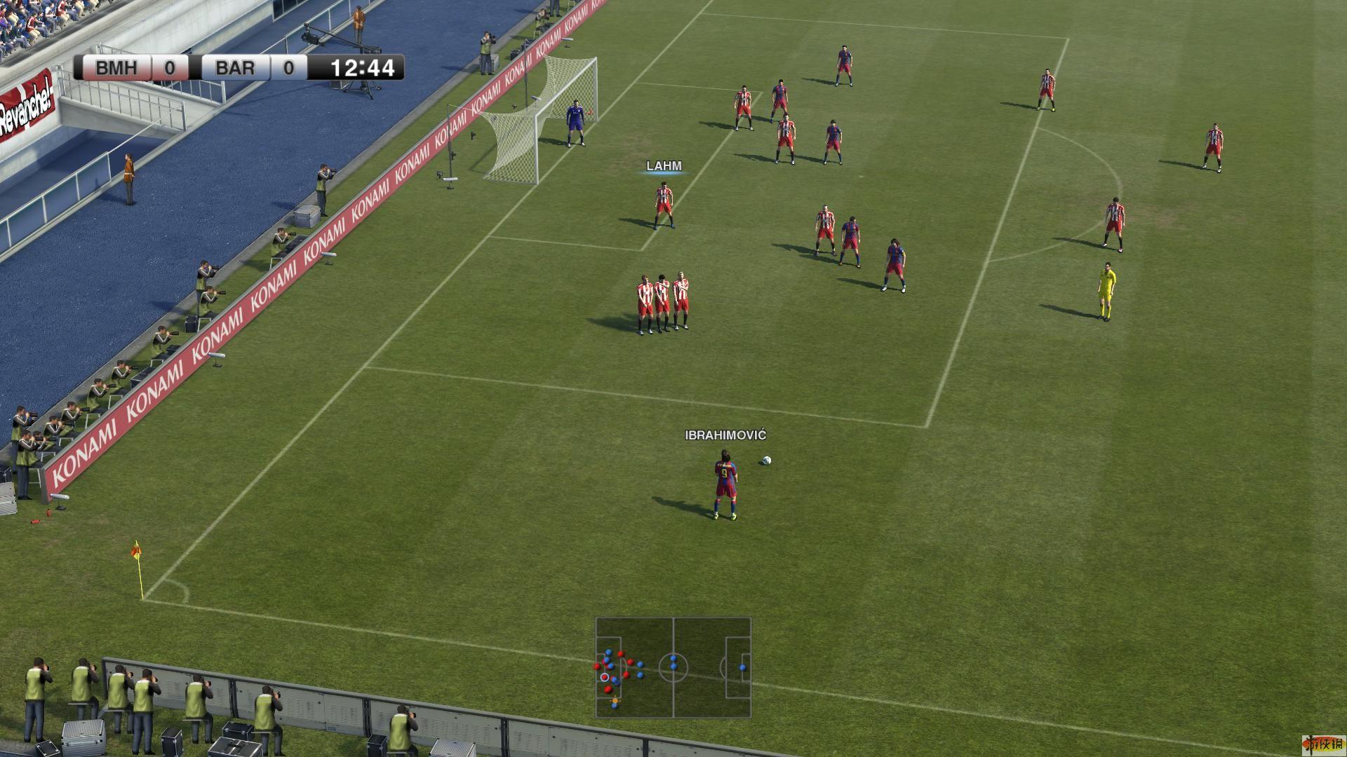 实况足球_《实况足球2011》demo大量清晰截图