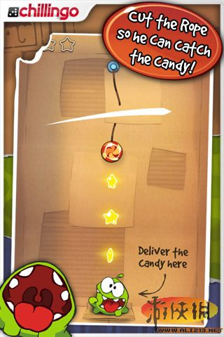 Cut the Rope FULL FREE 2.3.4 apk free download.