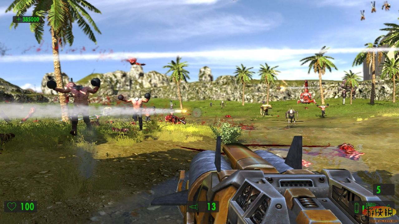 28.08.2009 Serious Sam The First Encounter HD.