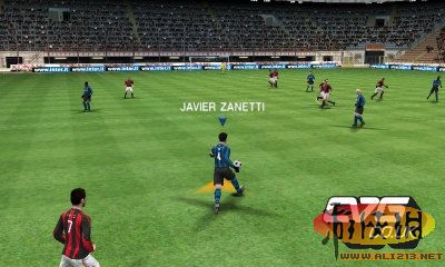 《3D版PES实况足球》游戏截图首曝