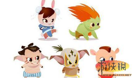 为原型的动物作品,无论是猪猪造型,兔兔造型,还是布兰卡的可爱兽人