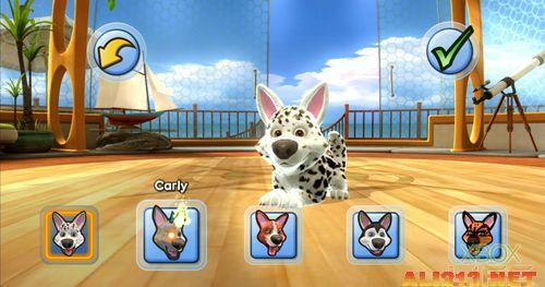 你可以为心爱的宠物们取个可爱的名字,也可以利用游戏里的玩具和它们