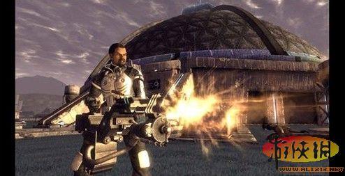 《辐射》和《辐射2》的黑岛工作室)开发的辐射系列角色扮演游戏,游戏
