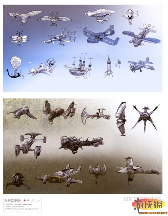 《最终幻想》游戏原画设计师 最新概念艺术作品
