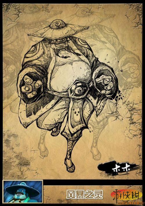 国内玩家木木自制 DOTA2 英雄精美手绘图