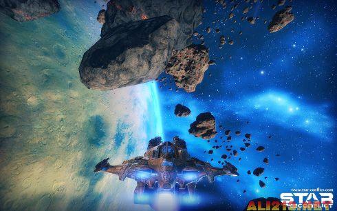 这场大战中一艘星际航船的机师. 或者你会和其他志同道合的高手组