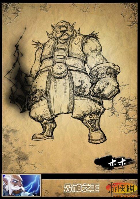 《dota2》英雄铅笔手绘又添超性感水晶室女