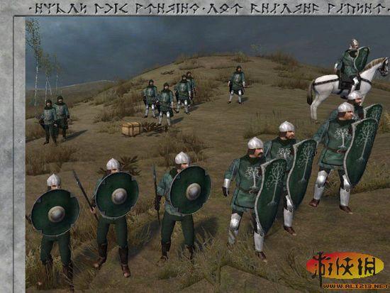 四年磨魔戒!《泯灭与砍杀》一剑3.0大型MOD卢克骑马之圣所放飞镖图片
