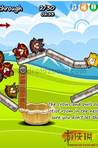 iphone游戏《母鸡找小鸡》画风清新可爱佳作