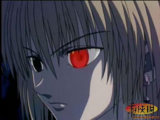 像二郎神的眼睛一样长在额头上.   六道——家庭教师   六道骸的眼睛