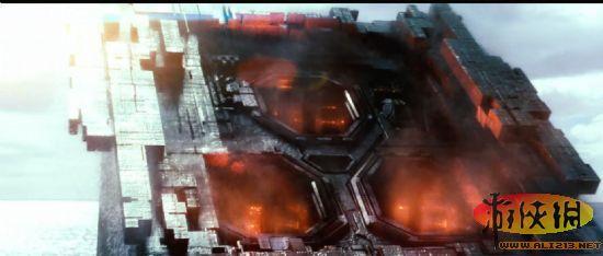 科幻战争巨制《战舰》剧场版预告片与海报公布