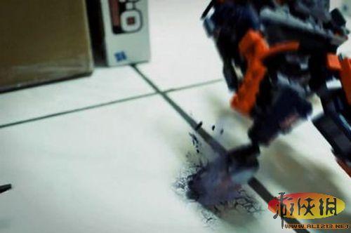 用积木模型v积木玩具《变形金刚》定格玩具欣影片熊动画图片