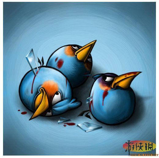 《愤怒的小鸟》受伤了还这么拽 果然够愤怒!