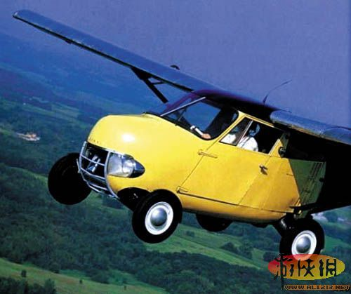 十分钟变飞机!1949年全球首款飞行汽车上市