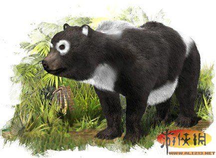 史前动物森林图片