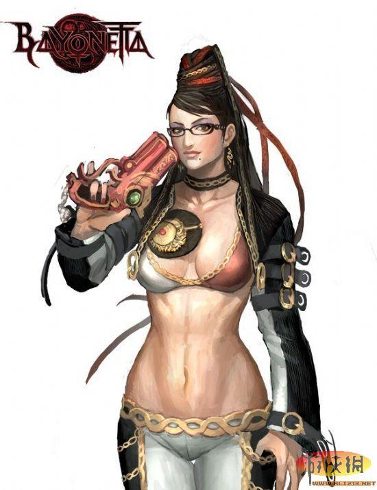 《猎天使魔女》贝优妮塔最新性感同人