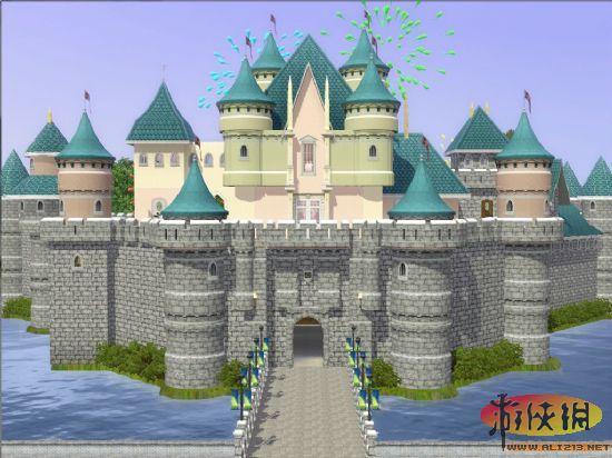 《模拟人生3》游乐园地图 六一绝对不能错过!
