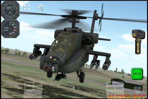 军迷福音:3d模拟飞行 阿帕奇apache 3d sim