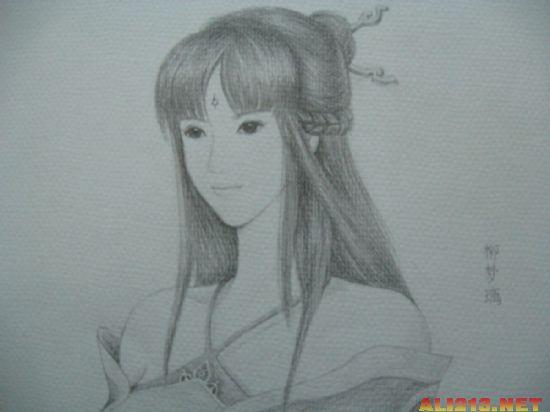 玩家手绘《仙剑奇侠传》人物图欣赏(2)