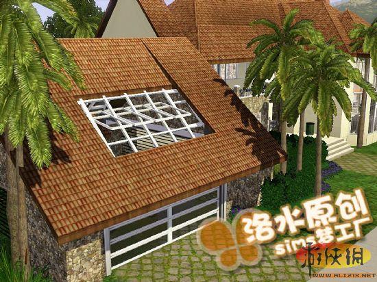 经典欧式别墅 颜色外观都是暖色系 庭院功能齐全 马厩 宠物屋 面积