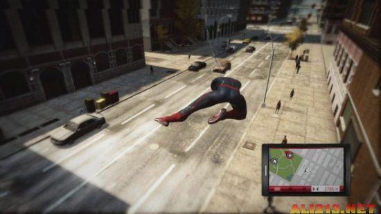 媲美动作大片《神奇蜘蛛侠》最新游戏截图欣赏