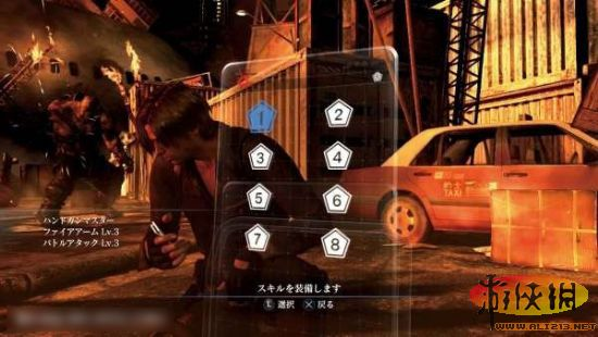 《惡靈古堡6》官網更新:新截圖及技能設置分配