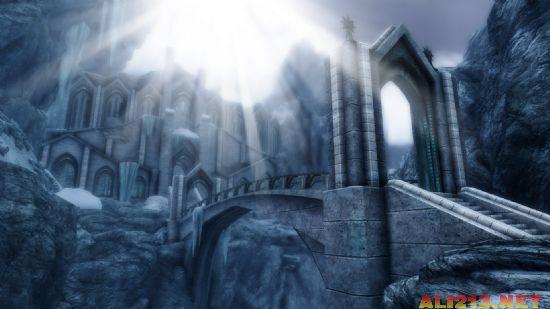 阿泰尔和《暗黑血统2》入侵《上古卷轴5》!