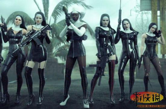 杀手5修女高清壁纸