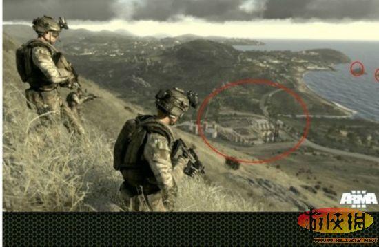 谷歌威武 武装突袭3 地图与真实世界一致
