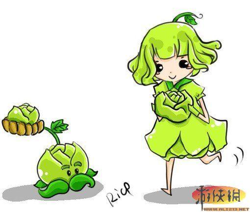 《植物大战僵尸》手绘同人图赏 卖萌才是王道