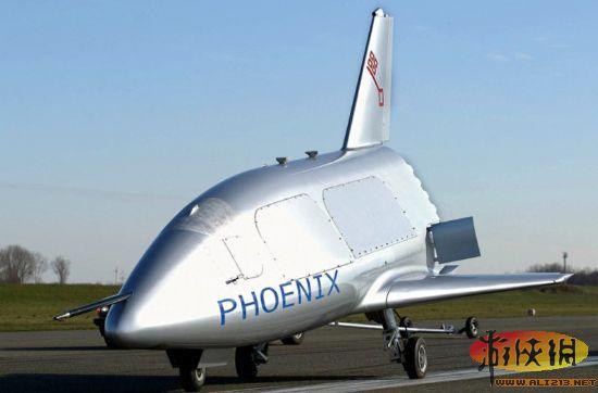 新型空天飞机的设计来自早前测试的小型航天飞机凤凰号原型机