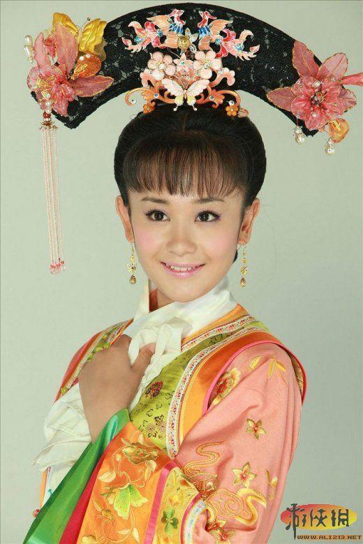 齐刘海的古装美女盘点