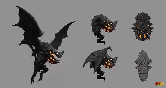 《恶魔城:暗影之王 宿命镜面》艺术设定图赏