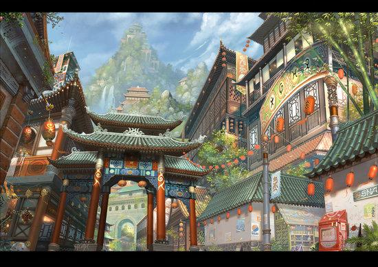 每周资讯_未来蘑菇城、火车城炫爆了 未来城市科幻美图(6)_游侠网 Ali213.net