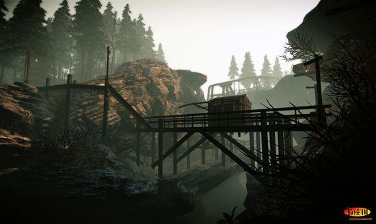 《上古卷轴5》在《孤岛危机2》引擎下mod截图