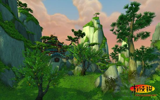 《熊猫人之谜》高清图赏 潘达利亚美丽风景!