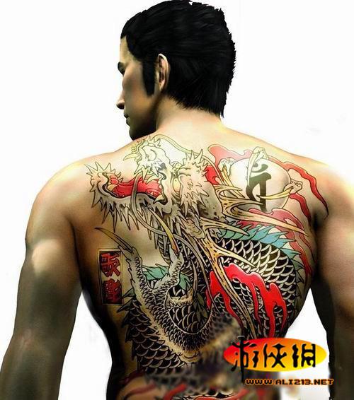 盘点拥有最酷纹身的游戏人物高清图片
