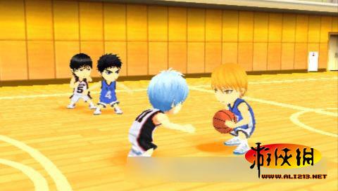 影子篮球员 奇迹的比赛 主要角色登场