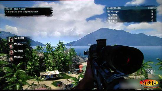 e3:玩家《孤岛惊魂3》多元素联机试玩视频