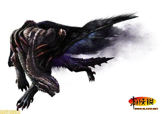 《怪物猎人4》黑狼鸟回归