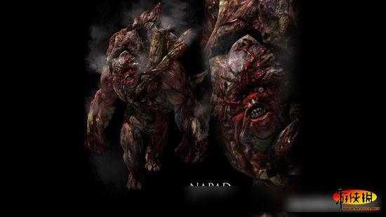 另一种被c病毒感染的人类所变异的完全体生物,他们用冲击敌人,利用