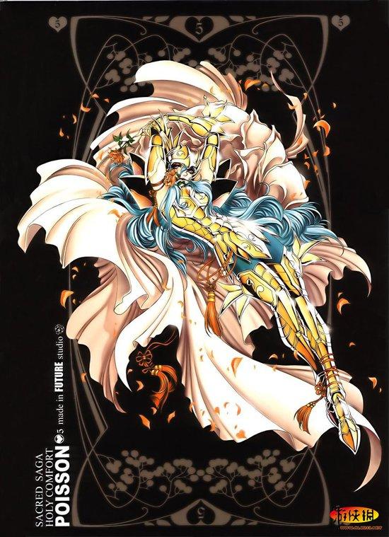 双鱼座黄金圣斗士-80后必看 国内漫画家打造圣斗士同人画作欣赏